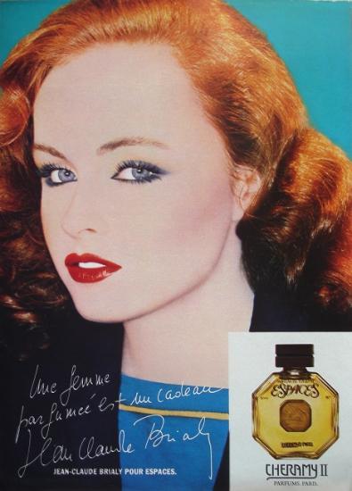 1978 pub parfum Cheramy, Espaces