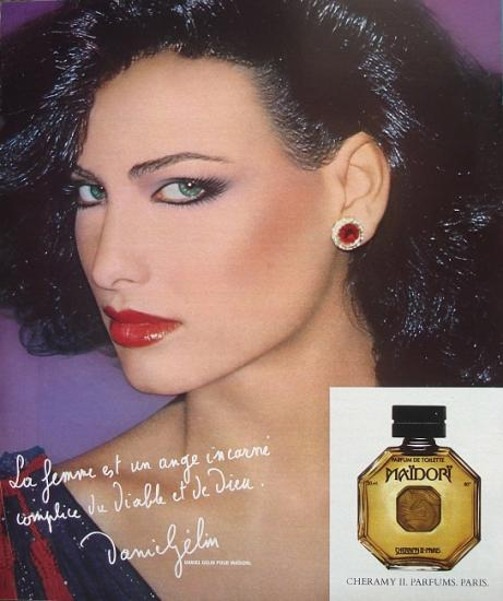 1978 pub parfum Cheramy, Maidori