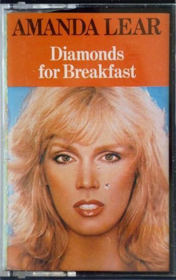 1980 'Diamonds for breakfast' Amanda Lear, Italie