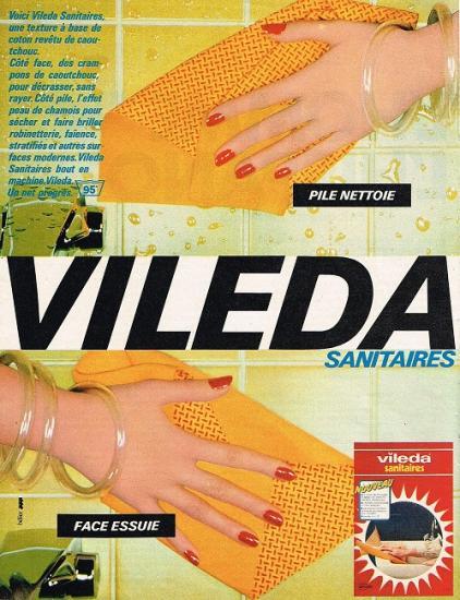 1980 publicité pour Viléda