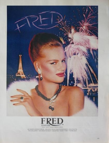 1981 publicité Fred