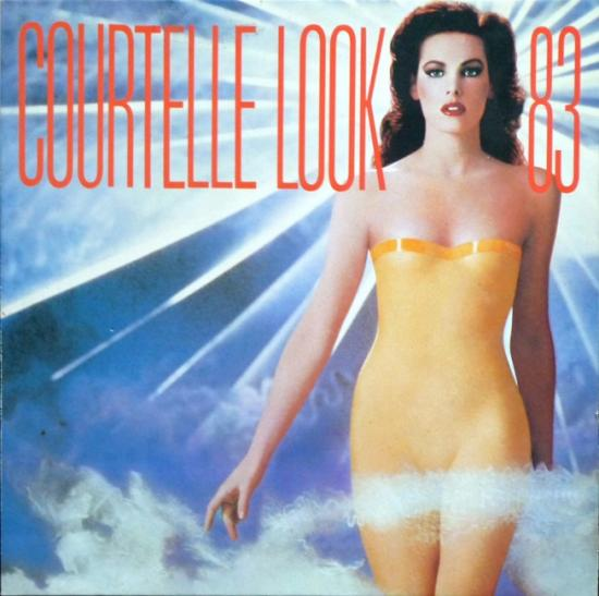 1983 carton invitation 'Courtelle look'