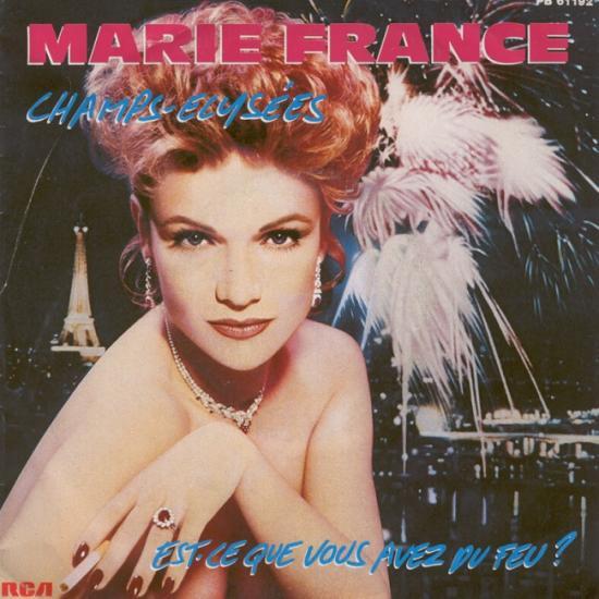 Marie-France: Champs-Elysées, 1983