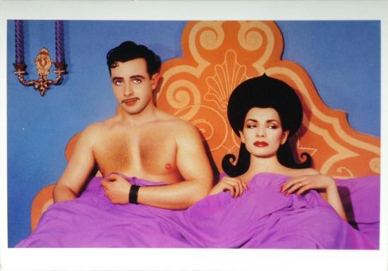 1983 cp 'La panne' Patrick Sarfat et Ruth Gallardo, New York