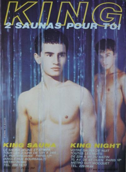 1983 pub King Sauna, Paris
