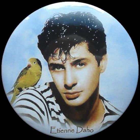 Badge Etienne Daho, 1984