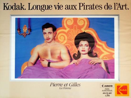 1985 affiche 'Kodak. Longue vie aux pirates de l'art'