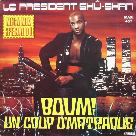 Le président Shû-Shan: Boum! un coup d'matraque, 1985