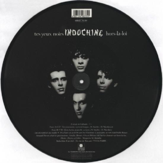 Indochine: Tes yeux noirs, 1986, face B