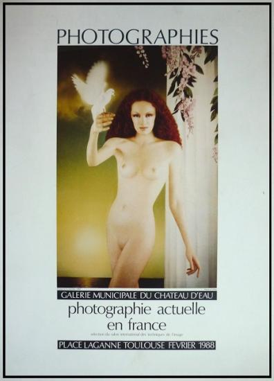 1988 aff expo 'Photographie actuelle en France' Toulouse