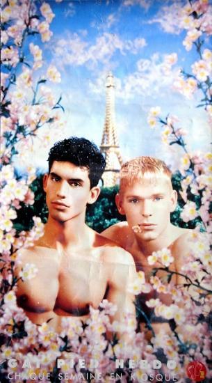 1988 promo pour le magazine Gai Pied