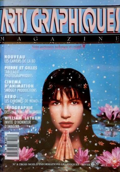 1989 janvier, Arts Graphiques magazine n°8