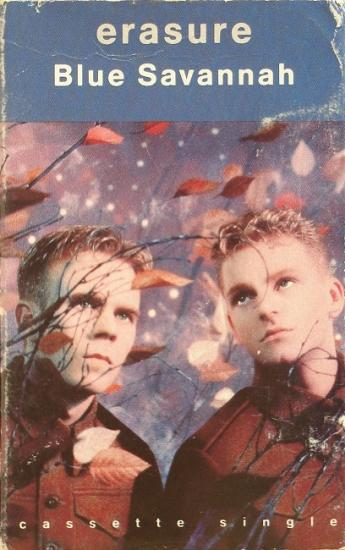 1989 'Blue savannah' Erasure, USA