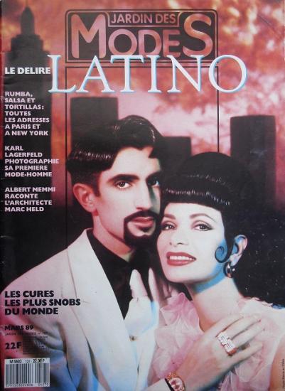 1989 Jardin des modes n°127