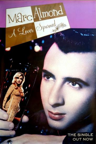 1990 affiche promo pour le single de Marc Almond 'A lover spurned' 101,5x152 cm