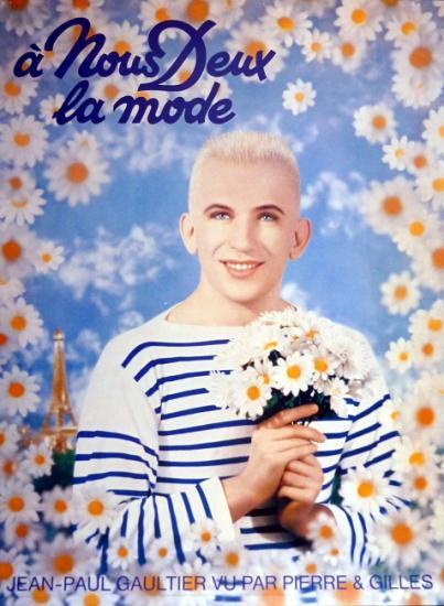 1990 affiche 'A nous deux la mode' Jean-Paul Gaultier