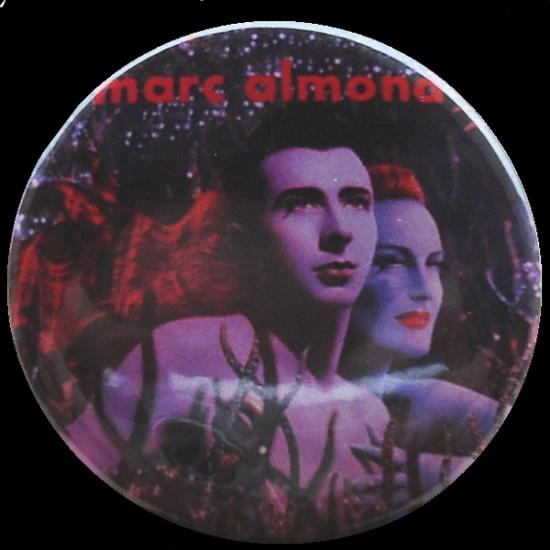 Badge Marc Almond, 1990