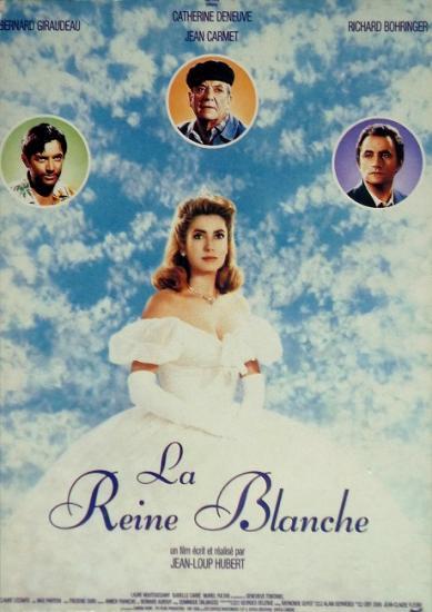 1990 cp 'La reine blanche'
