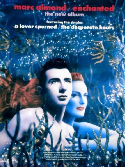 1990 promo pour l'album de Marc Almond, Enchanted
