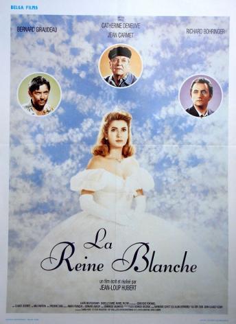 1991 affiche du film de Jean-Loup Hubert: La Reine Blanche