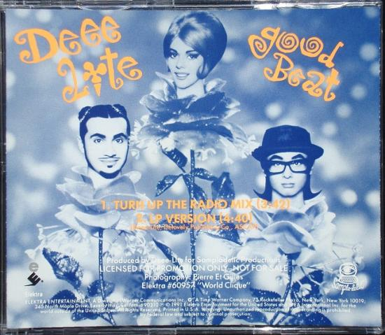 Deee Lite: Good beat, 1991, cd maxi promo
