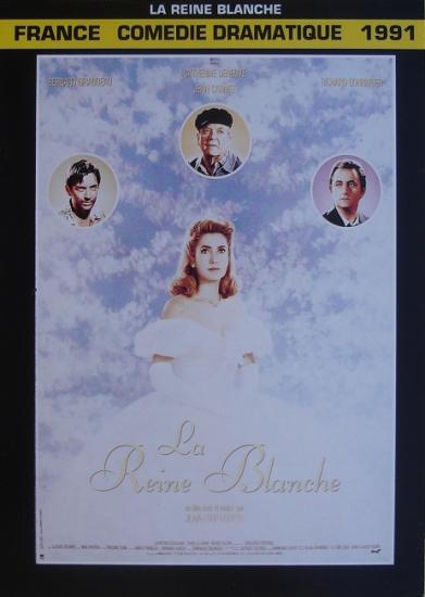 1991 fiche ciné La Reine Blanche