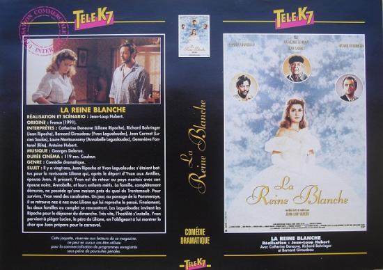 1991 jaquette La Reine Blanche