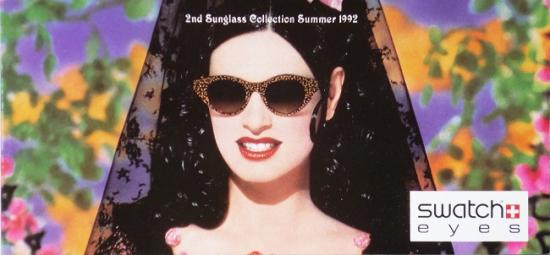 1992 '2nd sunglass collection summer 1992' Swatch eyes