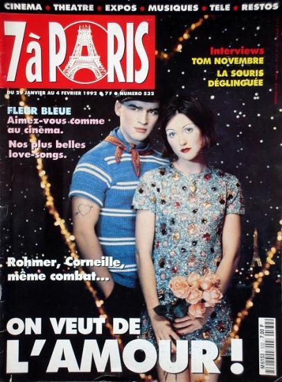 1992 7 à paris n°532