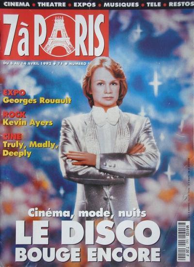1992 7 à paris n°542
