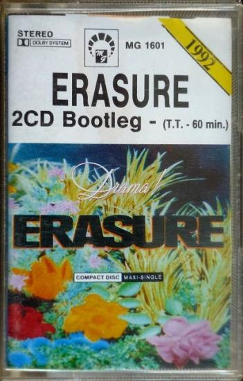1992 'Drama! 2CD bootleg' Erasure, Pologne