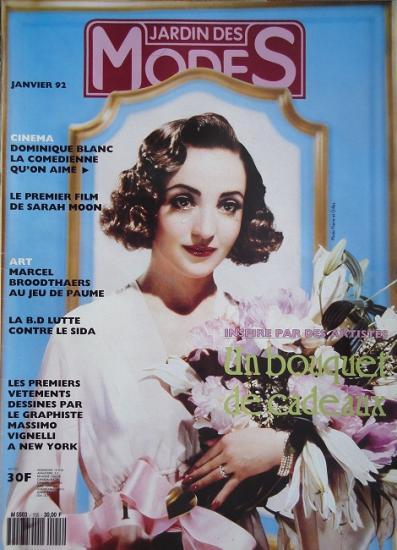 1992 Jardin des modes n°155