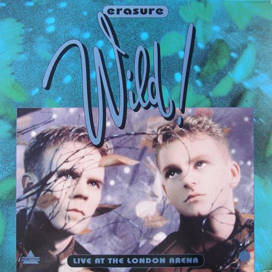 Erasure: Wild! live, 1992, laser disc
