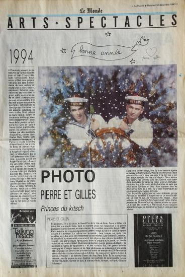 1993 Le monde arts spectacles