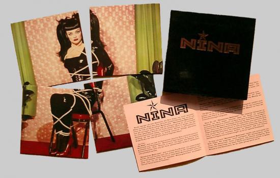 Nina Hagen: Nina, 1993, 4cd single promo
