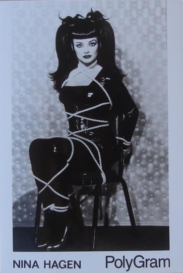 1993 photo promo Revolution Ballroom, Nina Hagen