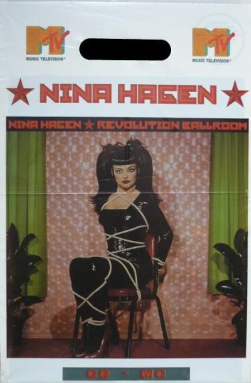 1993 poche promo Nina Hagen 'Revolution ballroom'