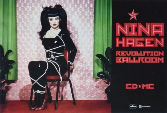 1993 promo Nina Hagen 'Revolution ballroom'