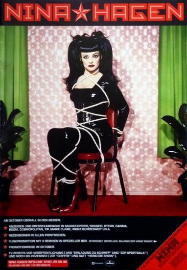 1993 pub box 4 titres promo 'Revolution ballroom' Nina Hagen