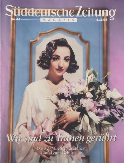 1994 Süddeutsche Zeitung n°44, Allemagne