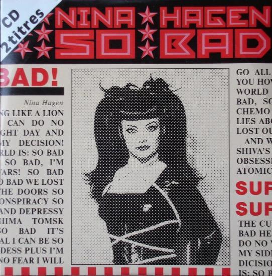Nina Hagen: So bad, 1994, cd single France