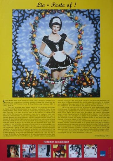 1995 grand flyer promo Lio 'Peste of!'