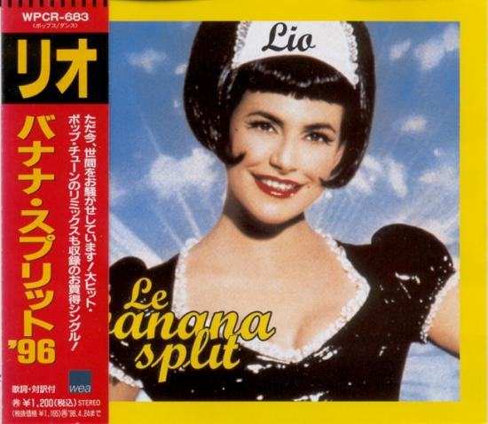 Lio: Le banana flit, 1995, cd maxi Japon