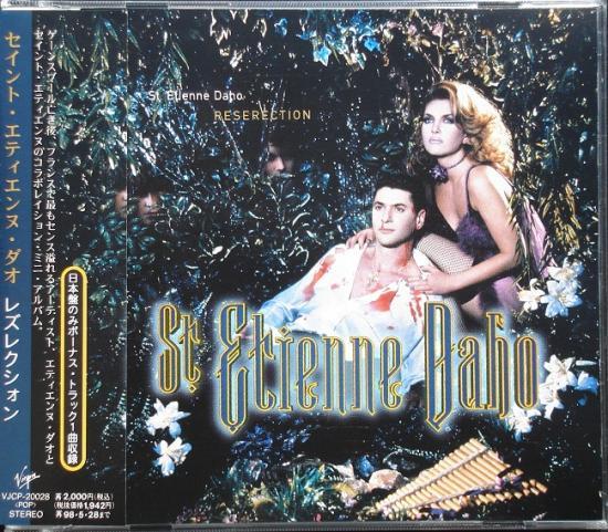 St Etienne Daho: Reserection, 1995, cd Japon