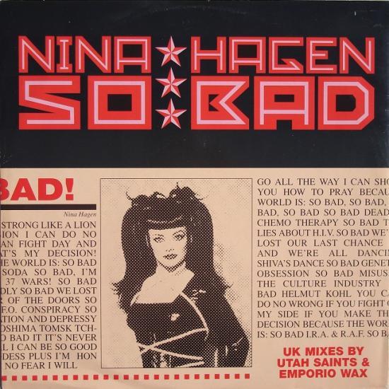 Nina Hagen: So bad, 1995
