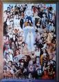 1996 affiche de la rétrospective 'Vingt ans' à la M.E.P., Paris, 67x93 cm