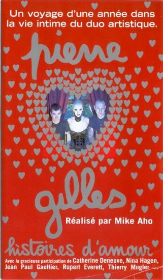 Pierre et Gilles, histoire d'amour, film de Mike Aho, 1996, vhs