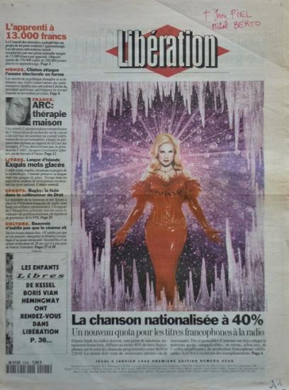 1996 Libération n° 4548