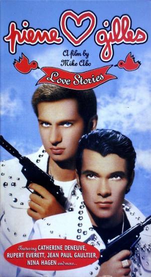 Pierre et Gilles, love stories, film de Mike Aho, 1996, vhs