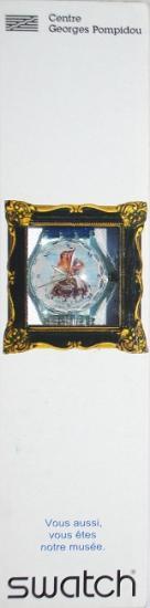 """Montre Swatch """"La sirène et le marin"""", 1997"""